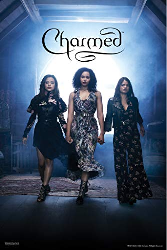Pyramid America Charmed Sisters Power of Three Book of Shadows TV Show Television Series Merchandise Cool Wall Decor Art Print Poster 12x18
