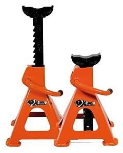 XL Perform Tool 552062 Caballetes con Cremallera 2T, Set de 2