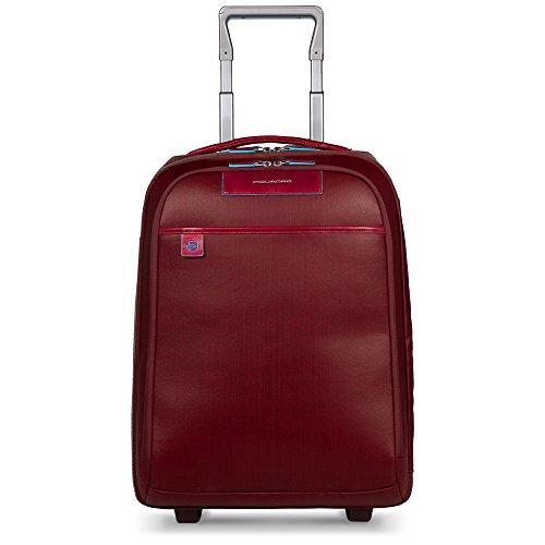 Piquadro Trolley Collezione Aki, 39 Litri, Rosso