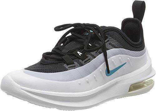 Nike Jungen Air Max Axis Laufschuhe, Schwarz (Black/Spirit Teal/White/Platinum Tint 010), 33 EU