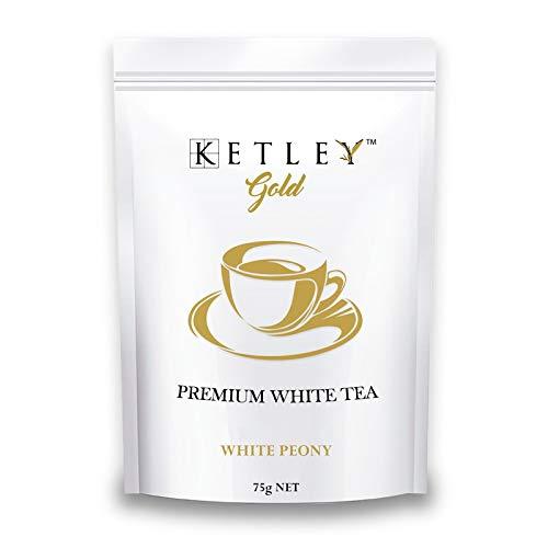 Ketley Gold White Tea Leaves - White Peony, 75g