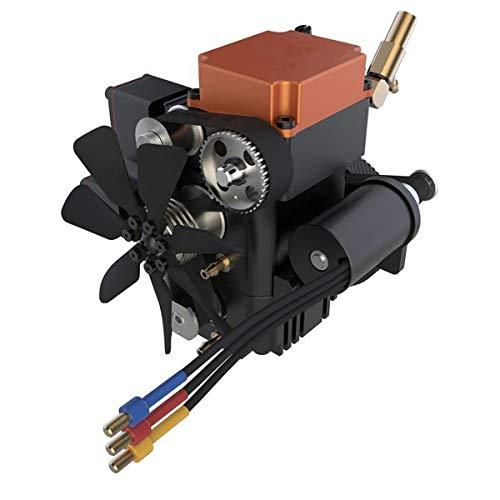 HIUHIU FS-S100G-Benzinmotor-Viertakt-Motor Modell RC Motor für RC Boot Flugzeug