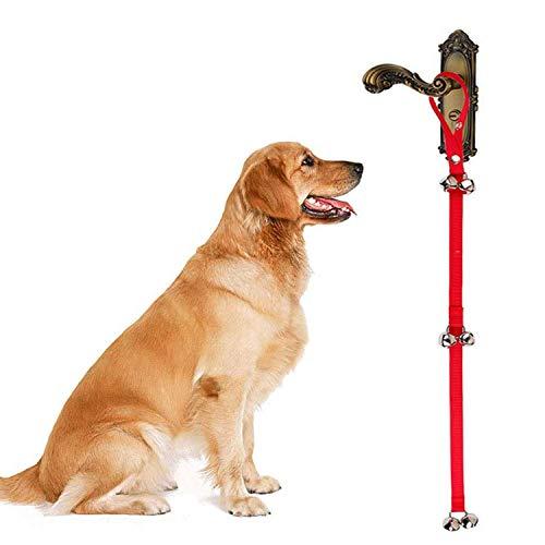 Yolococa Timbres para perros Campana Colgante Campanas de perro de Entrenamiento de la casa para el Entrenamiento para ir al Baño(1 PCS)