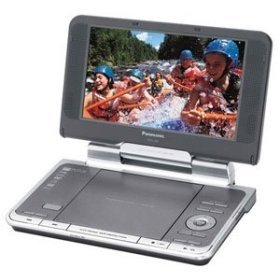 Affordable Panasonic DVD-LS82 8.5-Inch Portable DVD Player with Headrest Kit