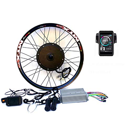 "3.2"" TFT Display+3000W Hi Speed Electric MTB Bicycle E bike Kit Conversione Bici Elettrica theebikemotor (60V3000W, 20\"")"