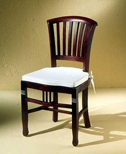SIT-Möbel Stuhl, Mahagoni, Braun, 50 cm l x 55 cm b x 95 cm h