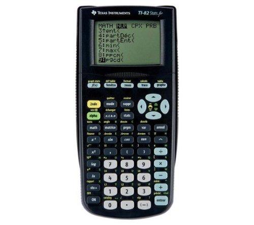 TEXAS INSTRUMENTS Calcolatrice grafica TI-82 Stats.fr