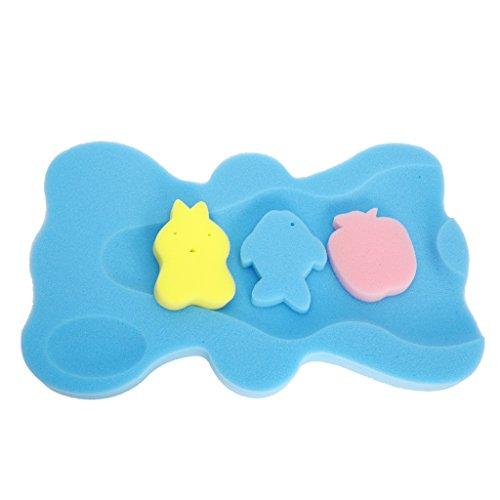 Cojín de esponja de baño para bebé, de seguridad, antides