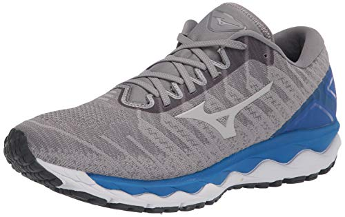 Mizuno Men's Wave Sky 4 WAVEKNIT Running Shoe, Frost Grey, 10 D US