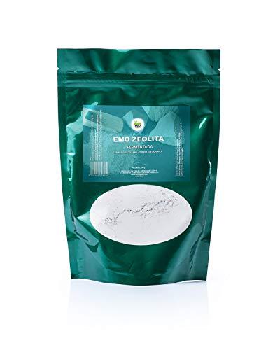 EMO Zeolita - Zeolita Clinoptilolita Fermentada - 200 gramos - Con Biotecnología EMO - Detoxificación y Limpieza del Agua - Alta Pureza - Máxima Calidad