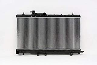 Radiator - Pacific Best Inc For/Fit 2704 Aug'02-07 Subaru Impreza WRX Outback STI Manual Transmission 4Cy WITH Turbo 2.0/2.5L