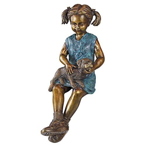 cute child statues