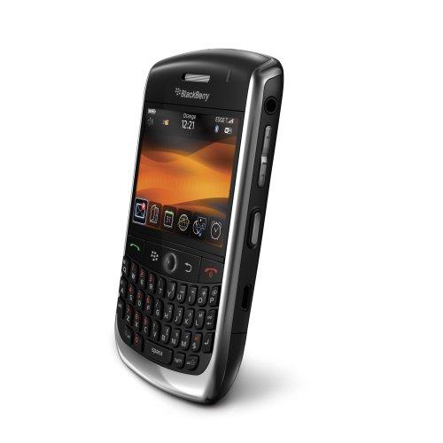 BlackBerry Curve 8900 Smartphone (GPS, QWERTZ-Tastatur, Maps, Organizer, Kamera mit 3,2 MP) schwarz