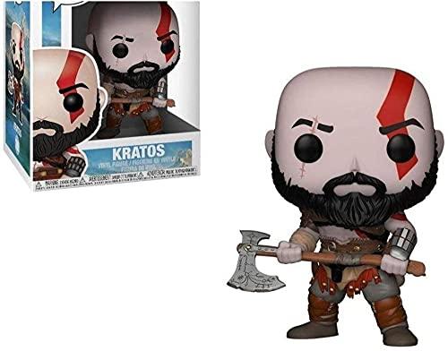 Pop Vinyl POP Games Figura God of War Kratos 269 # con caja modelo colección juguetes para regalos de cumpleaños