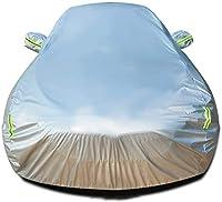 カーカバーは、シボレーインパラ通気自動車カバーオートカバー全天候UVプロテクション自動車に対応エクステリアの防水カーシールドカー布防風カバー (Color : B-lint, Size : LTZ 4dr Sedan)