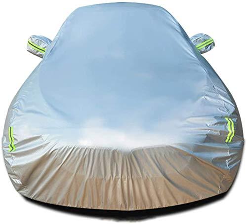 Zfggd Cubierta del coche Compatible con la cubierta del vehículo Automóviles Auto For For Ford Edge cubierta exterior transpirable automático de guardia Anti-UV impermeable coche lleno Refugios cubier