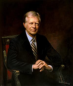 Posterazzi Presidential portrait of Jimmy Carter Poster Print  13 x 15