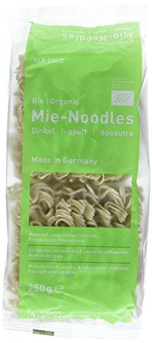 Alb Gold AG Dinkel Mie Noodles Bio-Organic, 6er Pack (6 x 250 g)