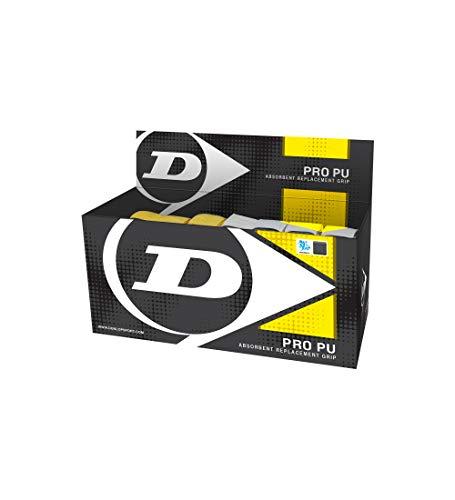 Dunlop Sport Pro PU Ersatzgriffe – Box mit 24 Stück (gemischte Farben)