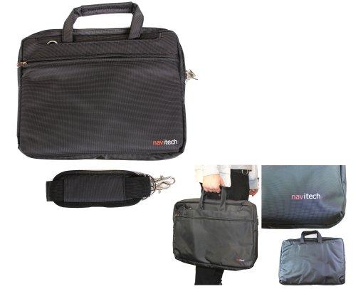 Navitech schwarzes Ultrabook / Spiel Konsole / Tablet Case Cover Tasche für das (Panasonic 20-inch 4K Toughpad)