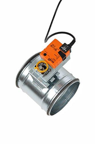 Intelmann Absperrklappe 150 mm + Belimo LM230A Stellantrieb (80 100 125 150 160 180 200)