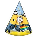 Procos - Sombrero cono de cartón, Lovely Minions, multicolor, 5PR87186.