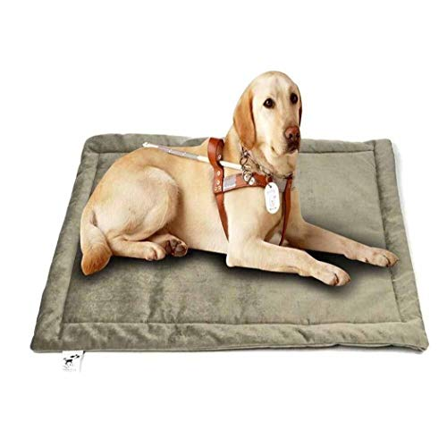 XYQ KIK ~ Das Hundebett, Crate Pad Premium-Plüsch wasserdichtes Hundebett waschbare Abdeckungen for Medium Small Large Dog-Color8-L (101 * 68cm), 2022 (Color : Color8, Size : L(101 * 68cm))