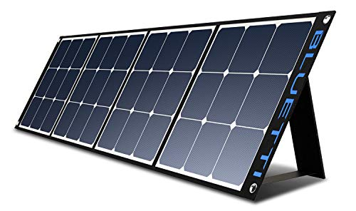 BLUETTI SP200 200w Solar Panel for AC200P/EB70/AC50S/EB150/EB240 Power Station,Portable Foldable Solar Panel Power Backup for Outdoor Van Camper Off Grid