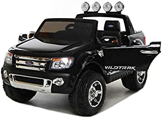 Licensed Ford Ranger 12V With R/C Suitable For Children's From 3 To 8 BLACK
