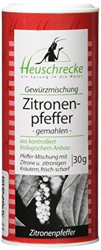 Heuschrecke Zitronenpfeffer, gemahlen, 5er Pack (5 x 30 g)