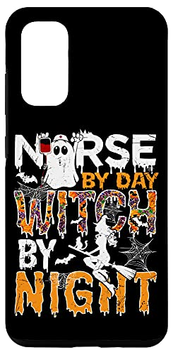 Galaxy S20 Holiday 365 Halloween Nurse By Day Witch By Night Case