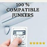 JUNKERS - Mando Aire Acondicionado JUNKERS - Mando a Distancia Compatible con Aire Acondicionado JUNKERS. Entrega en 24-48 Horas. JUNKERS MANDO COMPATIBLE.