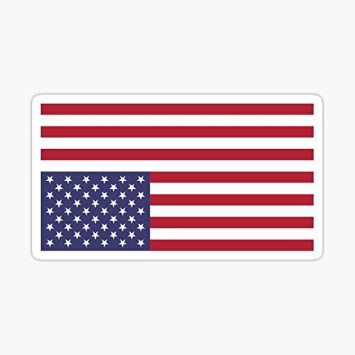 Upside Down American Flag Distress Signal Sticker - Sticker Graphic - Auto, Wall, Laptop, Cell, Truck Sticker for Windows, Cars, Trucks