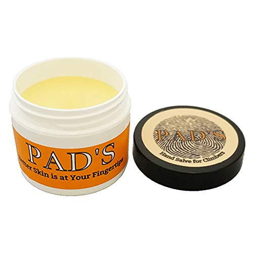 Pad's Hand Salve for Climbers (2 oz) | Moisturizing Balm for Cracked Hands, Dry Skin, and Callus Care