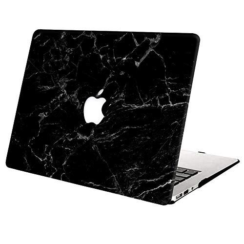 """AJYX Coque MacBook Pro 13 Pouces 2020 2019 2018 2017 2016 Version A2338 M1 A2289 A2251 A2159 A1989 A1708 A1706, Plastique Coque Rigide Housse Ordinateur Portable pour MacBook Pro 13"""",Marbre Noir"""