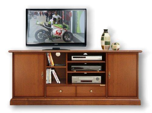 TV-Schrank glatt 160 cm Home Cinema