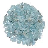 Aquamarin ugs. Beryll blau kleine Trommelsteine Wassersteine ca. 10-20 mm 250 g