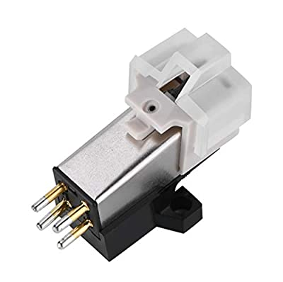 ASHATA Magnetic Cartridge Stylus with LP Vinyl Needle for Turntable Record Player