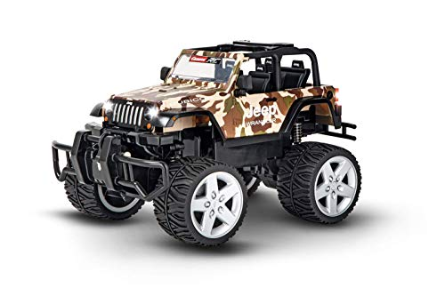 Carrera RC 370162122 2,4GHz Jeep[R] Wrangler Rubicon, Camouflage