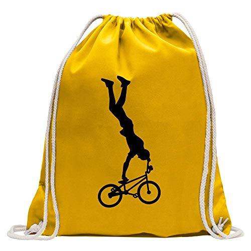 Figura del Ciclista Freestyle BMX Zaino Stampa Design Motivo Stampato