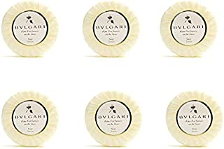 Bvlgari Au the Blanc (White Tea) Pleated Soap 75g - Set of 6