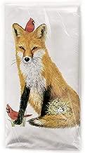 Mary Lake-Thompson Spring Fox Cotton Flour Sack Dish Towel