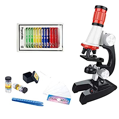 PIKAJIU Microscope Science Toy for Kids - Early...