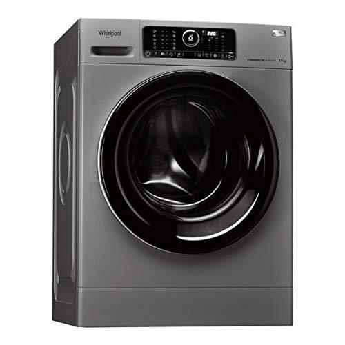 Whirlpool AWG 1112S/Pro autonome Belastung Bevor 11kg 1200tr/min schwarz, grau Waschmaschine–Waschmaschinen (autonome, bevor Belastung, schwarz, grau, Oberfläche, Schwarz, Edelstahl)