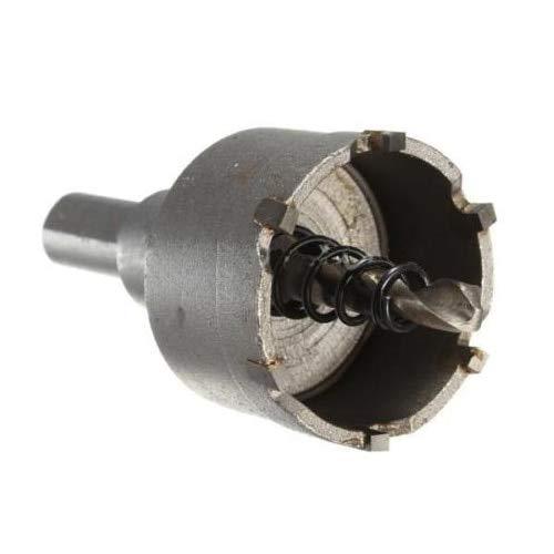 KONGZIR Del tubo del metal de acero Drill Plate broca de carburo de taladro Diámetro del agujero de perforación de la corona de maíz: 32 mm