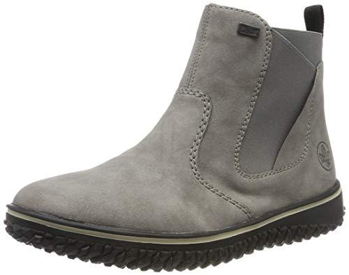 Rieker Damen Z4294 Chelsea Boots, Grau (Grey 40), 38 EU