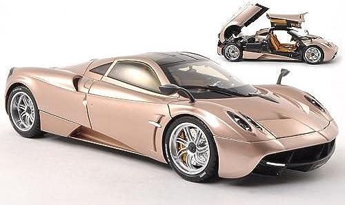 Pagani Huayra, Gold , Modellauto, Fertigmodell, Welly 1 18