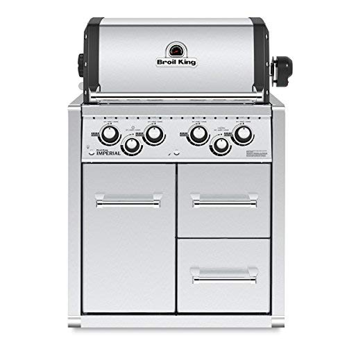 Broil King Gasgrill Metall/Naturgrill Imperial 490 mit Mobiletto 2019