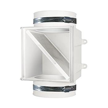 Dundas Jafine PCLT4WZW Dryer Duct Lint Trap 1-Pack