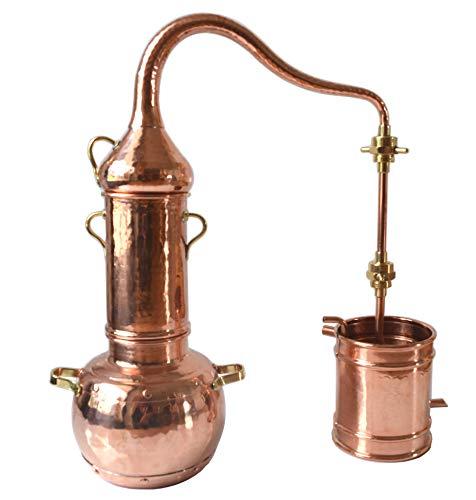 Dr. Richter 1 Liter Kolonnenbrennerei Destille mit Messingverschraubung 1L